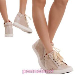 a078a2bbd36 La imagen se está cargando Zapatos-de-Mujer-Gimnasia-Zapatillas-Deportivos- Cuna-Interior-
