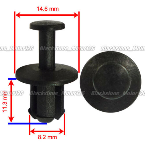 50 Rear Bumper-Side Support Fan Shroud Clip Rivet 17111712963 For Mini Cooper