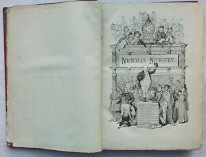 CHARLES-DICKENS-THE-LIFE-amp-ADVENTURES-OF-NICHOLAS-NICKLEBY-1890-ILLS-F-BARNARD
