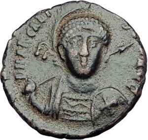 ARCADIUS-with-CROSS-Original-401AD-Antioch-Authentic-Ancient-Roman-Coin-i64919
