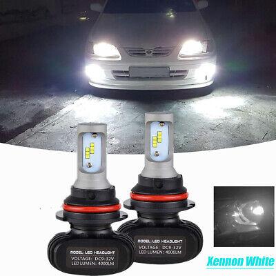 2x for 2000 04 ford mustang 9007 hb5 led headlight bulbs kit high low beam white ebay ebay