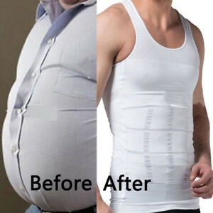 5edb4f3a71 Image is loading Men-Body-Slimming-Tummy-Shaper-Underwear-shapewear-Waist-