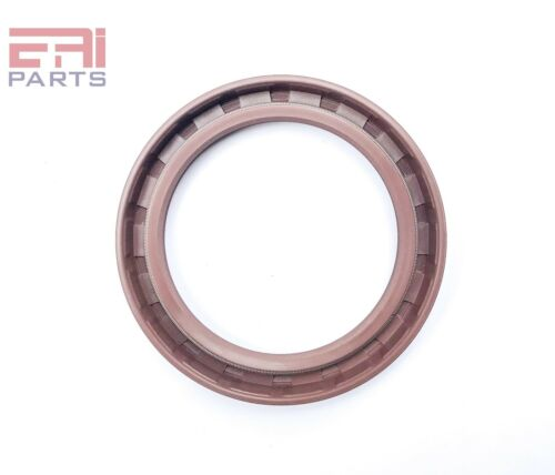 Viton Coated Metal Case EAI Double Lip w// Spring Oil Seal 60X80X10mm TC