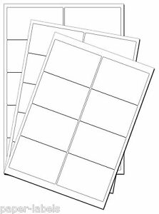 Labels-A4-Sheets-Adhesive-Round-Corners-Inkjet-Laser-Copier-Avery-Compatible