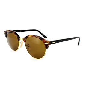 1b204a8ee97 Ray-Ban Sunglasses Clubround 4246 1160 Spotted Brown Havana   Gold ...