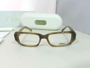 Chloe-Women-039-s-Eyeglass-Frames-Tan-Ombre-CL1151-CO3-50-16-135-Case-amp-Cloth
