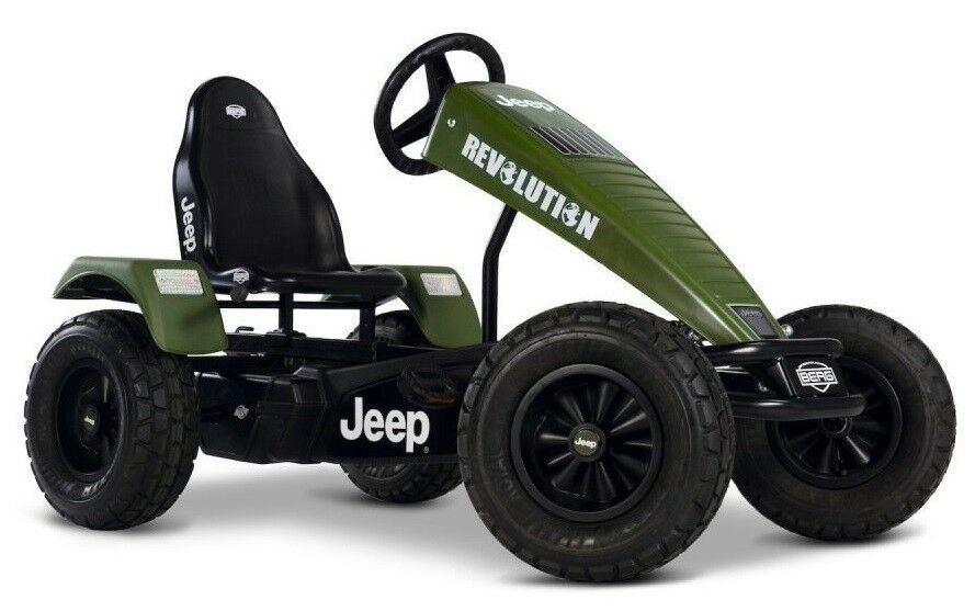 Berg Jeep Revolution BFR-3 Off-Road Kids Pedal Car Go Kart 5+ Years NEW