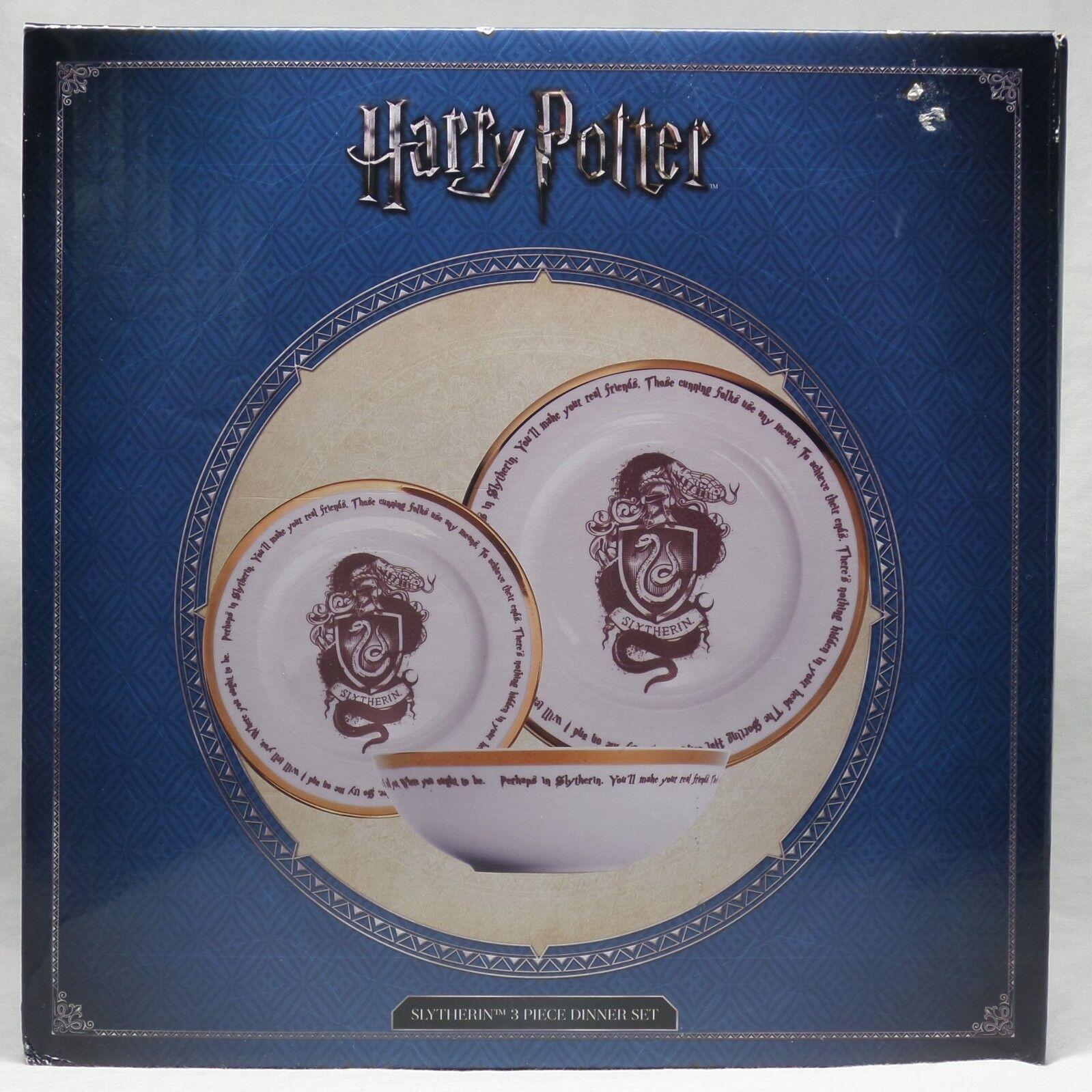 Harry Potter  Slytherin Vajilla de 3 piezas