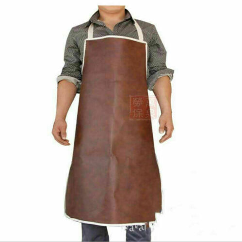 Cow Leather Welding Welder Apron Heat Resistant Blacksmith Mechanic Smock Apron
