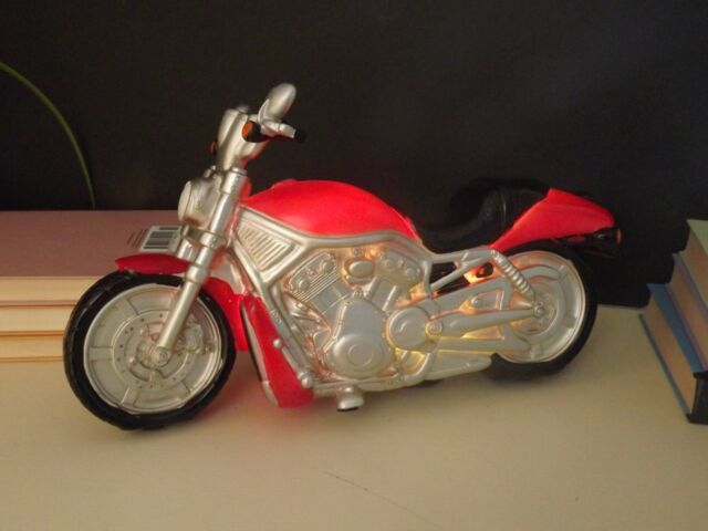 Lamp Vintage Red 10cm Motorbike 29cm 16cm Table X Harley Led knOP0w