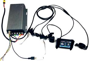 Electric e bike controller Sabvoton with LCD  72v sine wave 48V-95V 150a 3000w