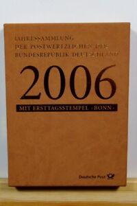 BRD Jahressammlung 2006 mit Ersttagsstempel Bonn - Deutschland - BRD Jahressammlung 2006 mit Ersttagsstempel Bonn - Deutschland