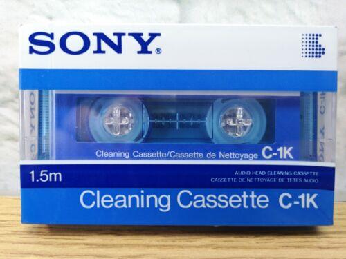 1 X cabeza limpiador de casete compacto SONY C-1KD Nuevo y Sellado