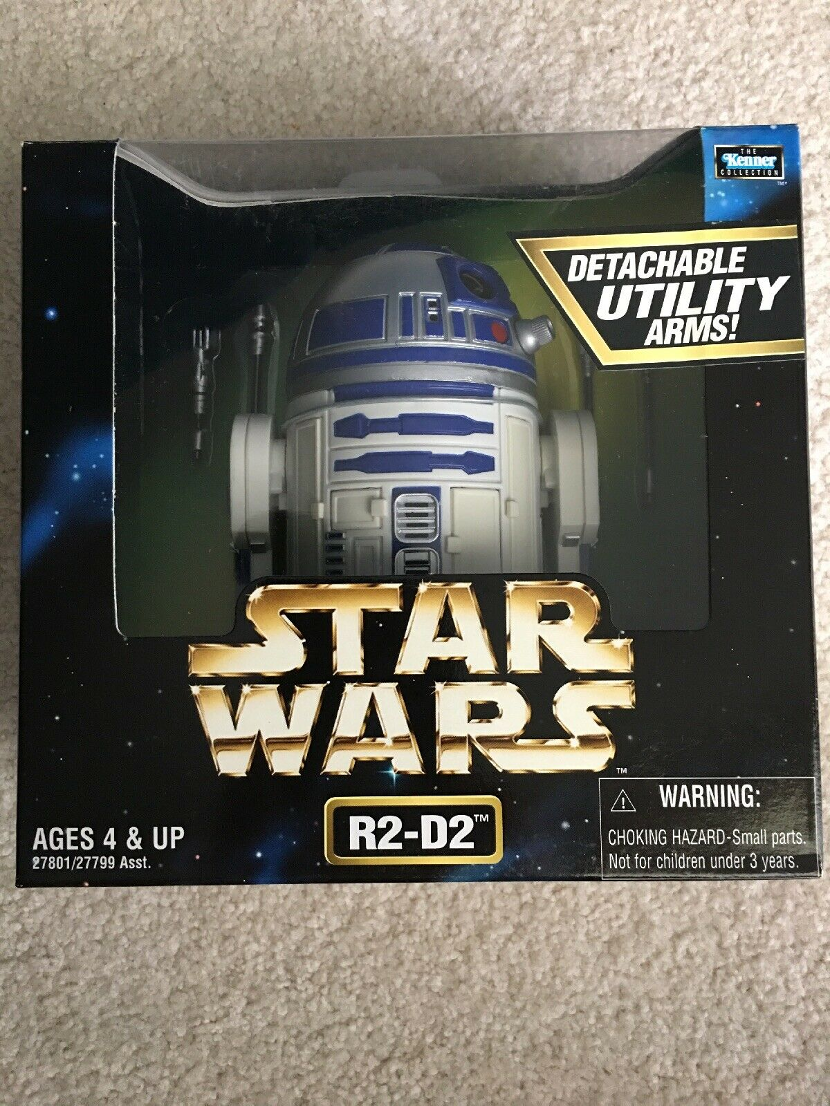 Star Wars Action Collection R2-D2 12 Inch Figure 1998 Factory Sealed