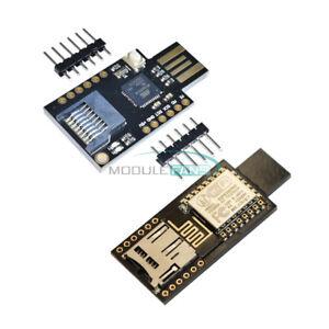 ESP8266 ESP12E ATMEGA32U4 Badusb TF Micro SD Virtual