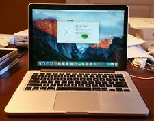 "13"" Apple MacBook Pro Retina 2015 2.7GHz Core i5, 8GB, 128 GB, AppleCare 5/2018"