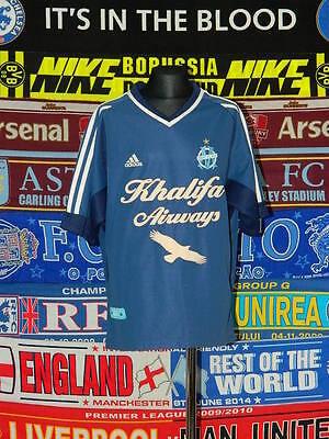 0500e4a647 5/5 Olympique Marseille boys 14/15 yrs football shirt jersey trikot maillot    eBay