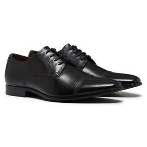 MENS-JULIUS-MARLOW-JADED-WORK-LEATHER-BROWN-BLACK-MEN-039-S-SLIP-ON-DRESS-SHOES