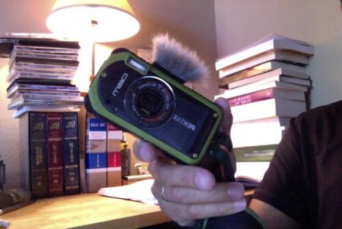 directo del fabricante-UK Oficial MICROMUFF Skinny de micrófono parabrisas