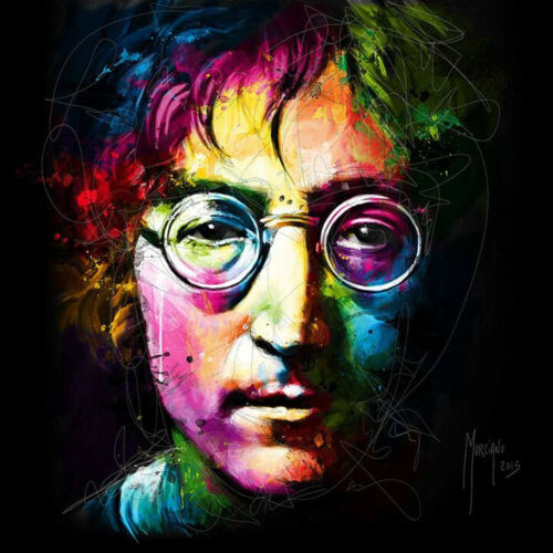IMAGINE AKA JOHN LENNON BY PATRICE MURCIANO POP ART PRINT KEYRING-MUGS-ART PRINT