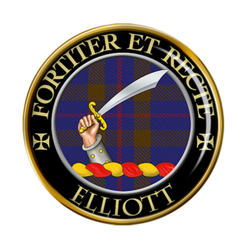 Elliott clan escocés pin insignia