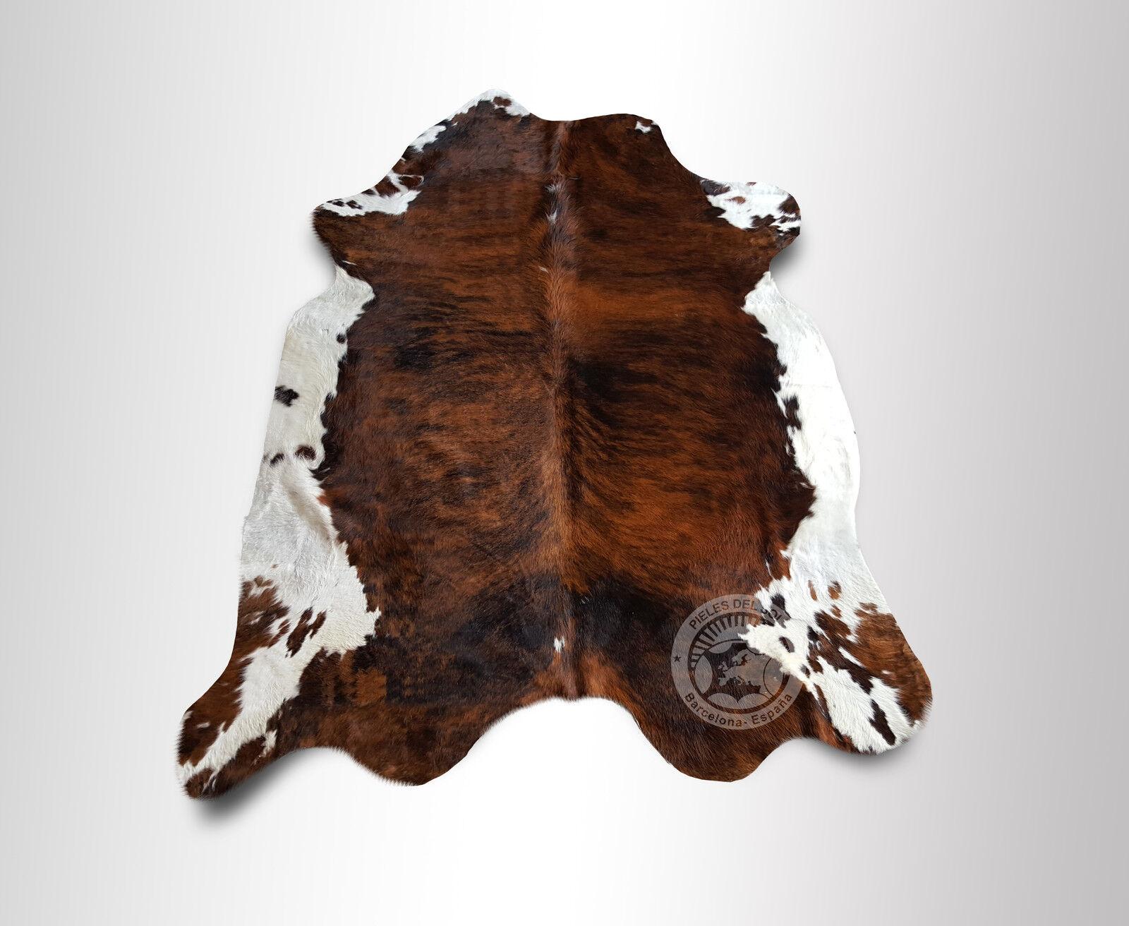 Teppich aus Kuhfell, Farbe  TriFarbe, Größe circa 240x200 240x200 240x200 cm (TC6XL) 0b7962