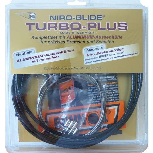 Fasi Turbo-Plus Vélo de course Niro Glide Vélo-Bremszug-Set-TPB 359