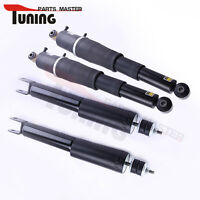 4pcs Struts For Gmc Yukon Xl 1500 Z55 Rear Front Air Suspension Shocks