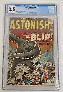 Tales-to-Astonish-15-CGC-3-5-Off-White-to-White-Marvel-Atlas-The-Blip-FFH