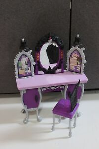 Monster High Every After High Doll House Furniture Bedroom Vanity