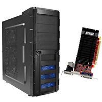 Computer Gamer Aufrüst PC AMD FX-4300 4x3,8GHz 8GB DDR3 NVIDIA GeForce GT610 2GB