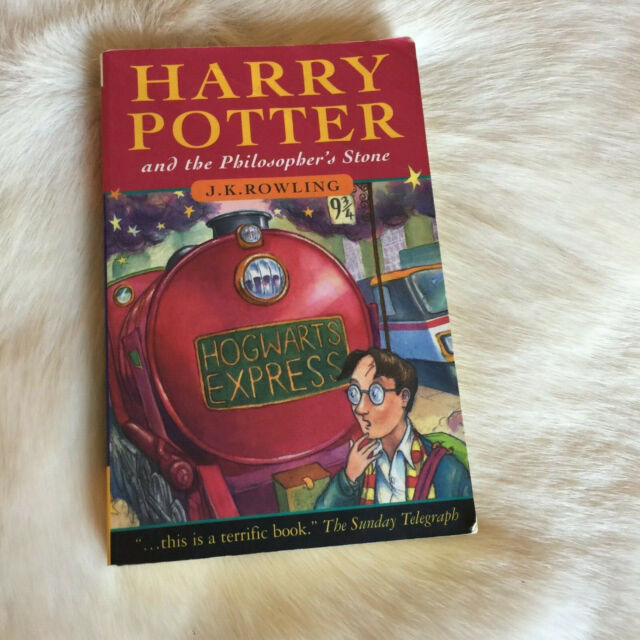 J. K. Rowling Harry Potter and the Philosopher's Stone Book 1997 Vintage 90s