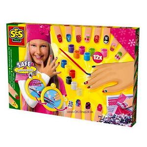 SES-Creative-14975-Kit-manualidades-unas-Adornado-Para-Ninos-NUEVO