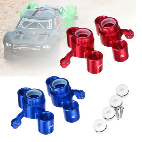 GPM Racing RC Aluminum Front Knuckle Arms for ARRMA SENTON//TYPHON//TALION 6S  *