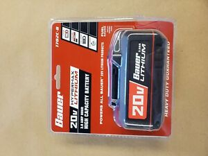 Bauer-20V-HyperMax-Lithium-3-0-Ah-High-Capacity-Battery-1702C-B-NEW-SEALED