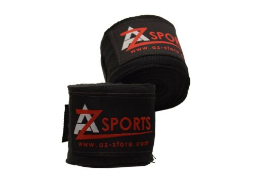 AZ New 4 and 4.5 meter Hand Wraps MMA Boxing Inner Gloves Wrist Protection-1534