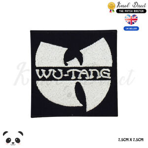 Wu-Tang-Music-Band-Embroidered-Iron-On-Sew-On-Patch-Badge-For-Clothes-Bags-Etc