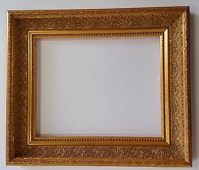 "2"" Wide Gold Ornate  Furniture Quality Picture Frames for Paintings"