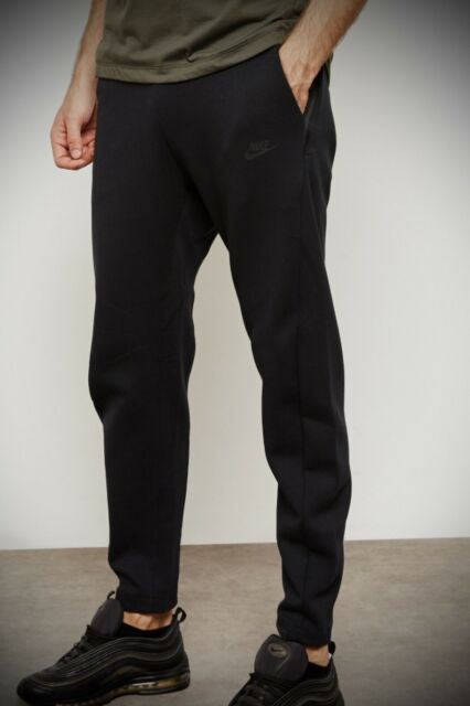 Mens Nike Tech Fleece Joggers Pants Size Large Cj4280 010 Triple Black For Sale Online Ebay