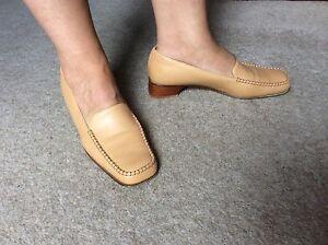 piatte beige in per Jesi donna pelle Bruna Designer Scarpe da Eu40 donna CZUqXxAw