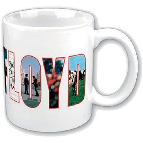 Pink Floyd Vintage Echoes Coffee Mug Cup Boxed Official Fan Gift Band Rock