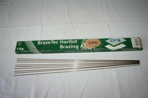 1 Stab Silberlot Hartlot blank 45 /% Silber 2,0 x 500 mm cadmiumfrei Ag 45 Sn