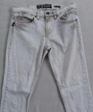 Social Collision Men's Stretch Stinger White Skinny Jeans - Tag 30x32/Fits 30x31