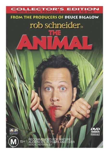 The Animal (DVD, 2002) Rob Schneider, Edward Asner, Michael Caton