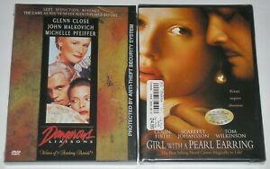 DVD-Lot-Girl-with-a-Pearl-Earring-New-amp-Dangerous-Liaisons-New
