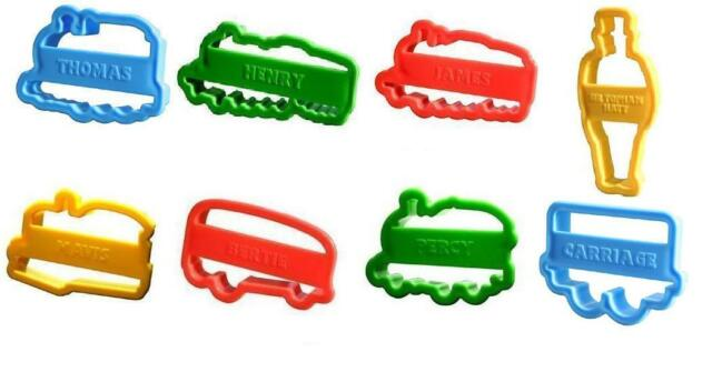 New Lot 80 Thomas Percy James Train cookie cutter Gift Party Playdoh Wholesale