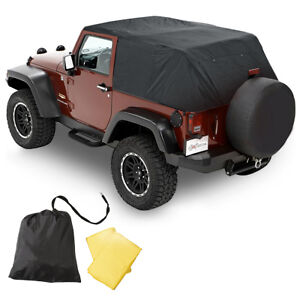 Pavement Ends Emergency Top Quick Protection 07 18 Jeep