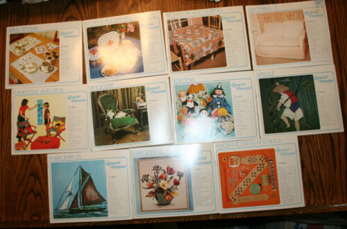 11 VINTAGE SEWING PATTERNS CREATIVE PATTERNS CRAFT MISC.