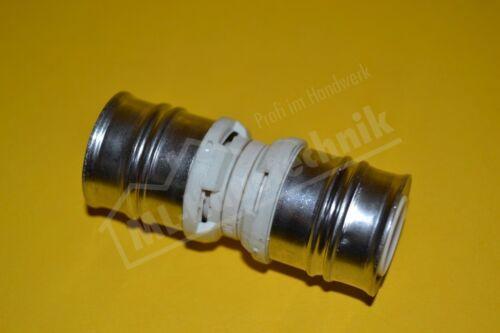 Kunststoff Press Kupplung 16-20-26-32 Muffe PPSU DVGW zugelassen