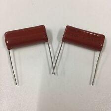 100pcs 630V 332 K 0.0033uf 3.3nf 3300pf P10 CBB13 CBB metal film capacitor